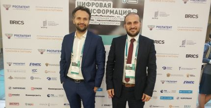 Proofstack ve BLASEA Rus Patent Ofisi'nde Blockchain sunumu yaptı