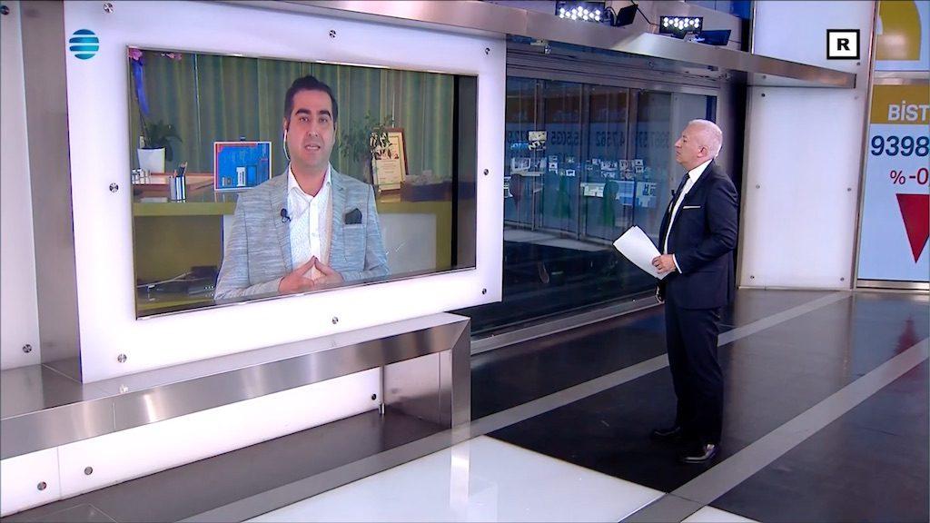 BCTR Genel Yayın Yönetmeni Ahmet Usta, NTV'de yayınlanan Piyasa Ekranı programına katıdı