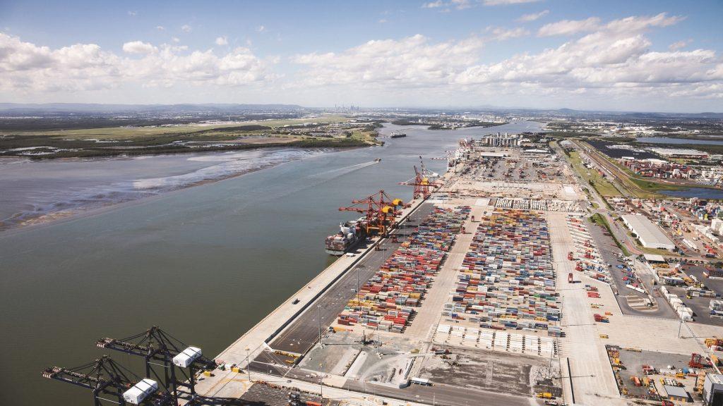 Brisbane limanı için Blockchain üzerinde tedarik zinciri
