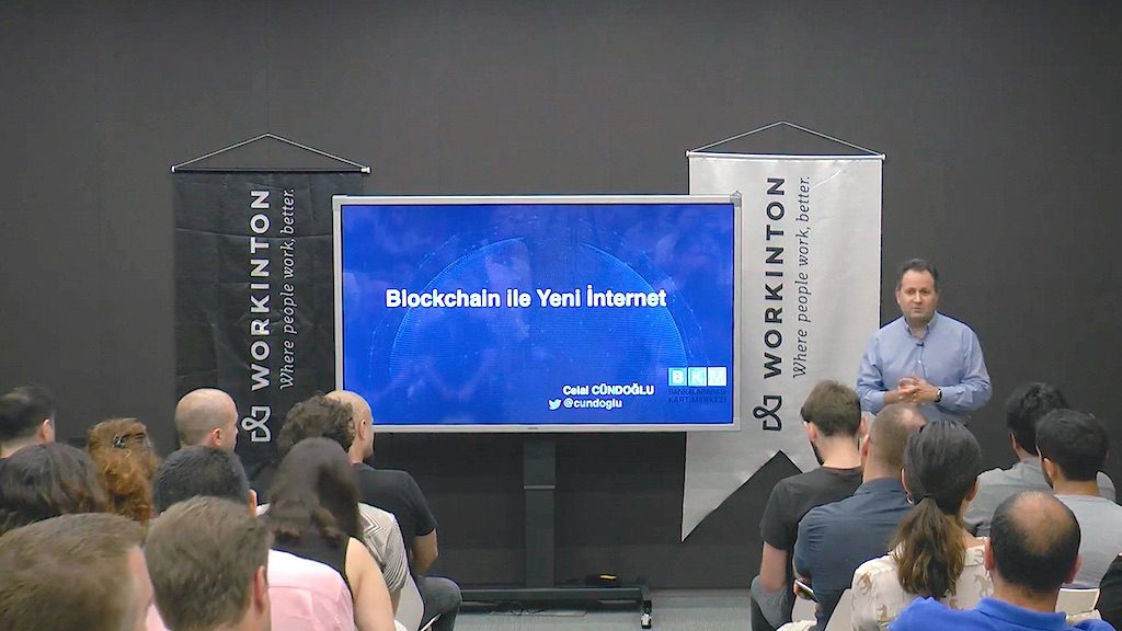 """""""Blockchain bir şeyleri yakacak"""""""