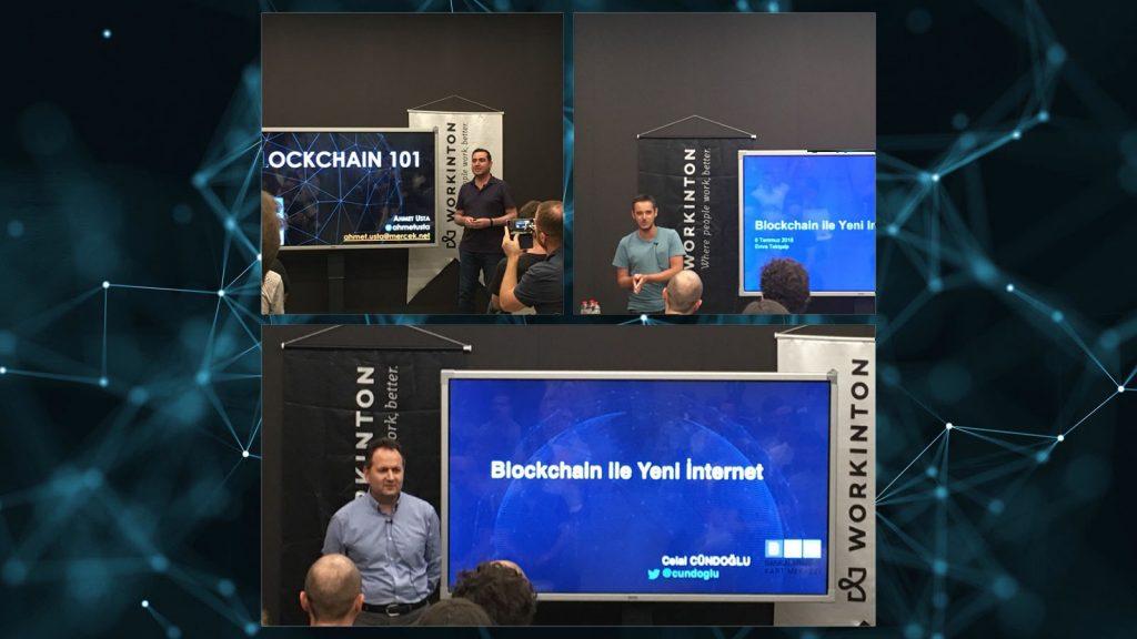 """""""Blockchain ile Yeni İnternet"""" etkinliği üzerine"""