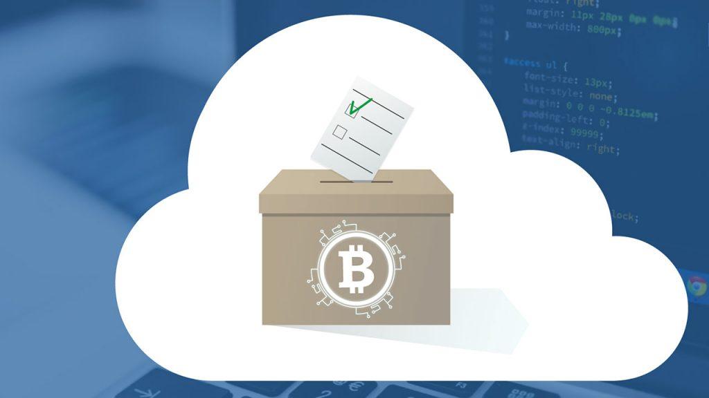 Japonya online oylamada Blockchain kullanıyor