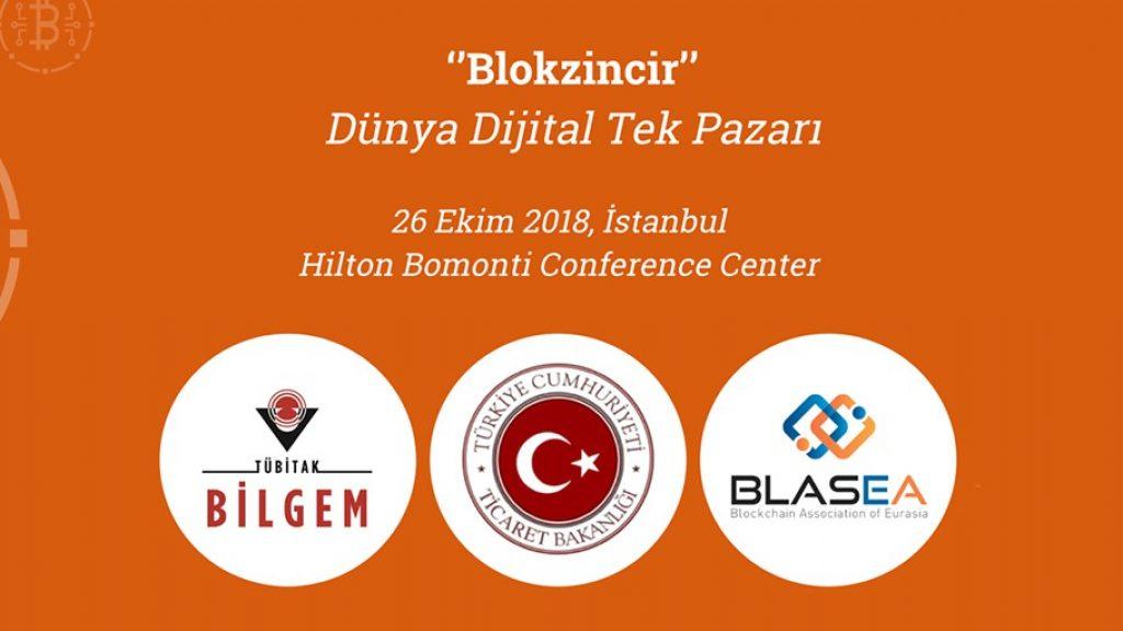 ''Blokzincir: Dünya Dijital Tek Pazarı'' konferansı hayata geçiyor