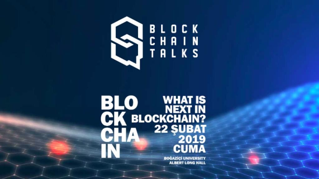 Blockchain uzmanları Boğaziçi Üniversitesi'nde buluşuyor