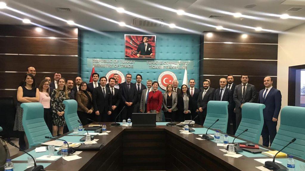 Üretim, Lojistik ve Ulaşım Çalışma Grubu toplantısı Ticaret Bakanlığı ev sahipliğinde gerçekleşti