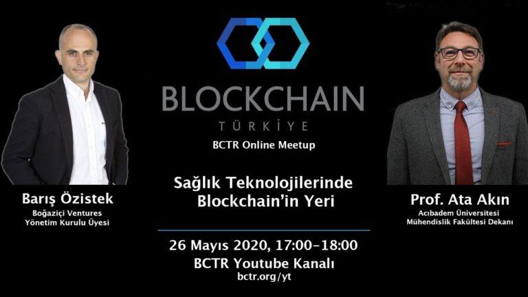 """BCTR Online Etkinlik Daveti: """"Sağlık Teknolojilerinde Blockchain'in Yeri"""""""